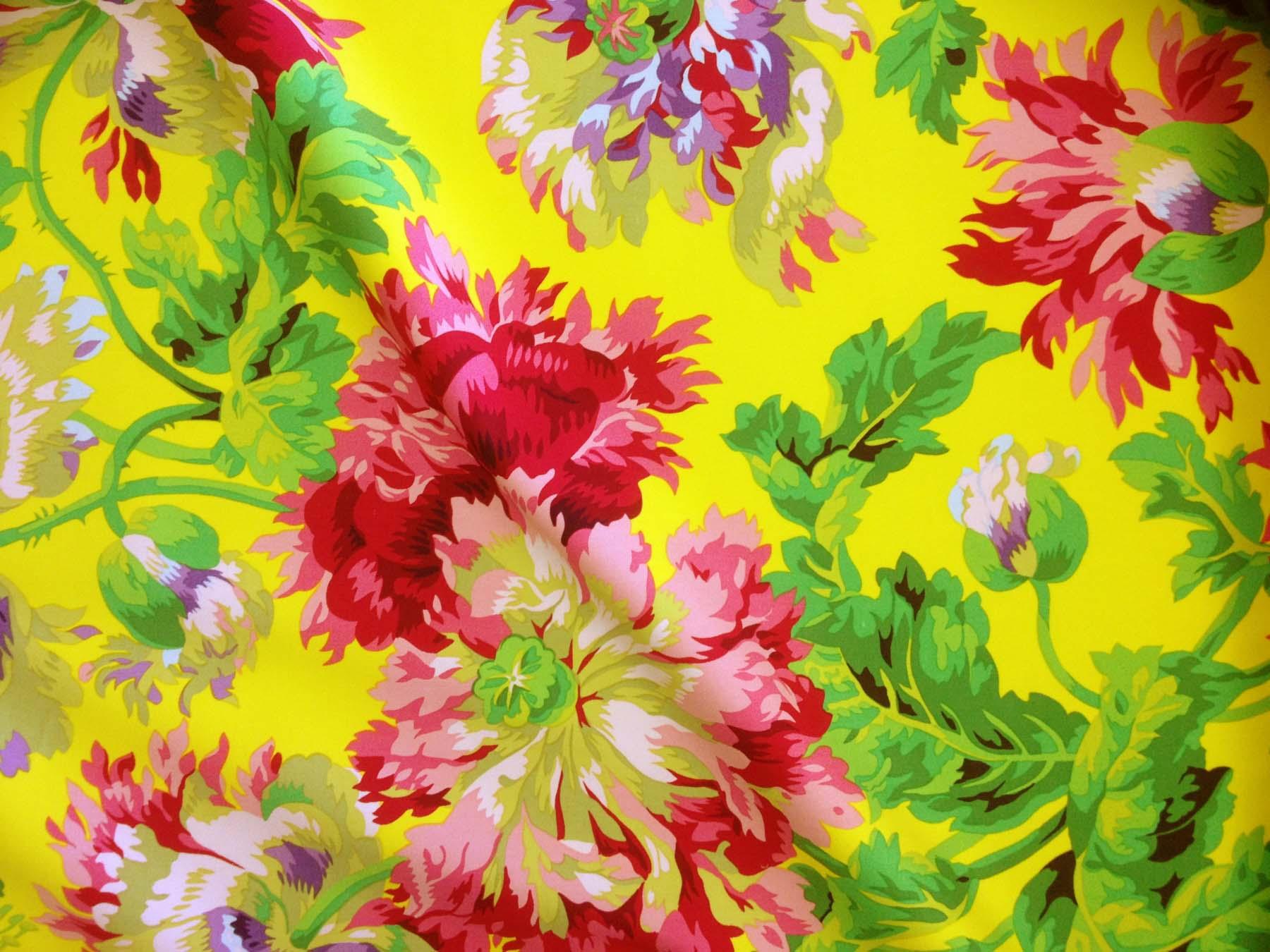 Rowan Upholstery Fabric Yellow